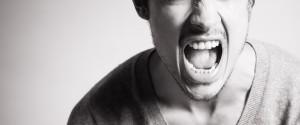 Rude Angry Man Yelling