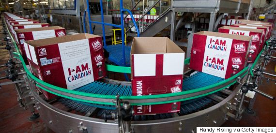canada beer cases