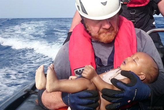 bebe refugiado ahogado