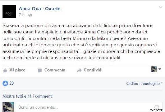 Anna Oxa lascerà Italia? Si sente in pericolo