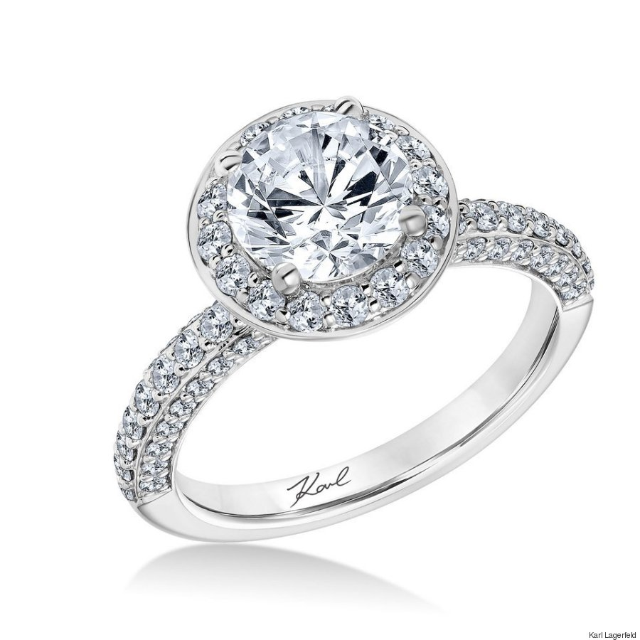 karl lagerfeld engagement ring