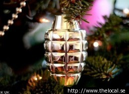 Grenade Tree Ornament