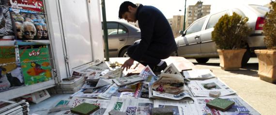 IRANIAN NEWSPAPER