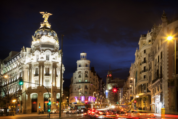 madrid spain city
