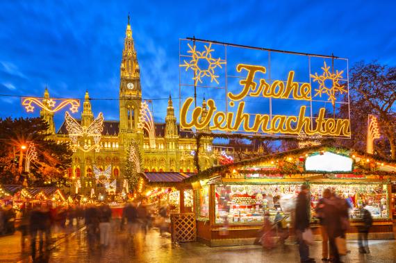 vienna austria city night