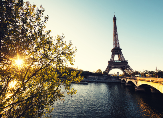 paris france city morning