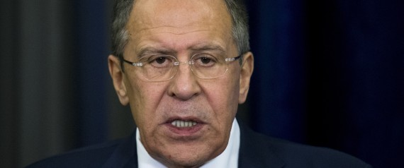 RUSSIAN FOREIGN MINISTER LAVROV MAY