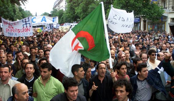 algerian france riots