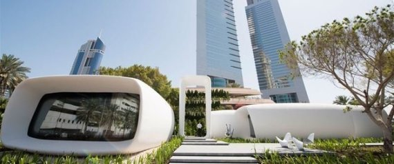 DUBAI 3DPRINTED BUILDING
