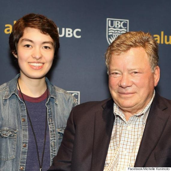 michelle kunimoto william shatner
