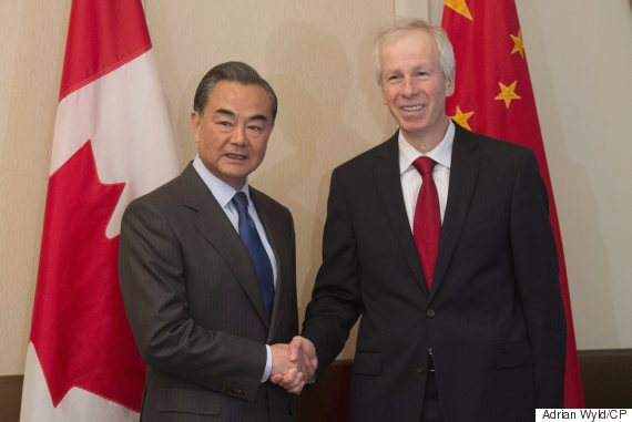 wang yi stephane dion