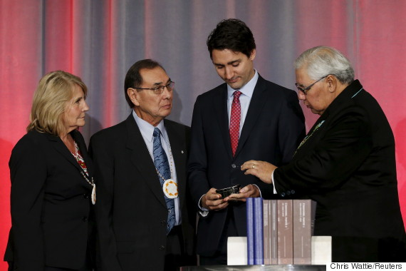 murray sinclair justin trudeau