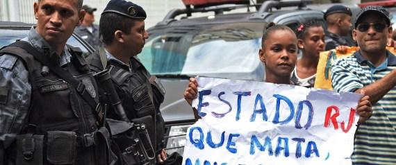 POLICEMEN VIOLENCE BRAZIL