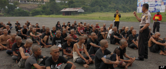 INDONESIA PUNKERS POLICE