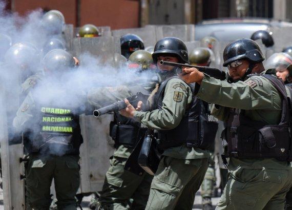 policia venezuela