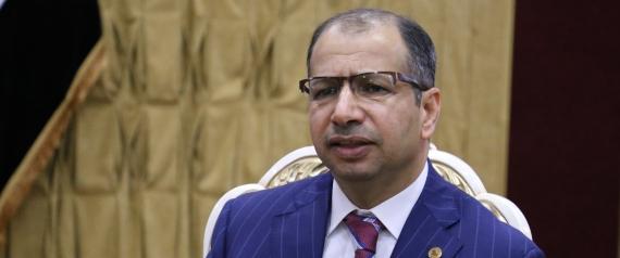 IRAQI PARLIAMENT SPEAKER