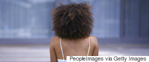 BLACK WOMAN BACK