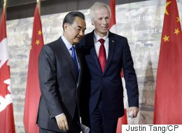 Dion Chastised For Silence As Chinese Minister Scolded Reporter