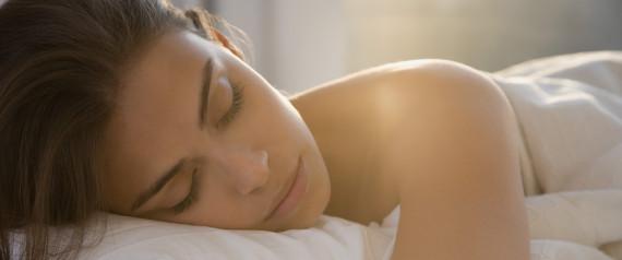 WOMAN BED SLEEP