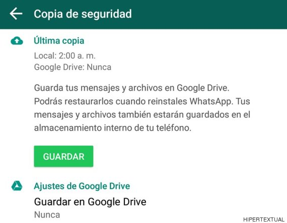 drive whatsapp