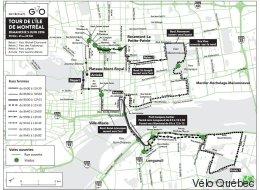 Tour la nuit et Tour de l'île de Montréal: quelles rues seront fermées? (CARTES)