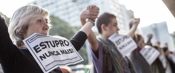 WOMEN PROTESTS BRAZIL