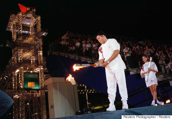 muhammad ali 1996 cauldron