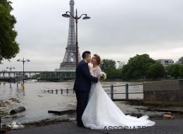 Un mariage à Paris pas très «glamour» (PHOTOS)