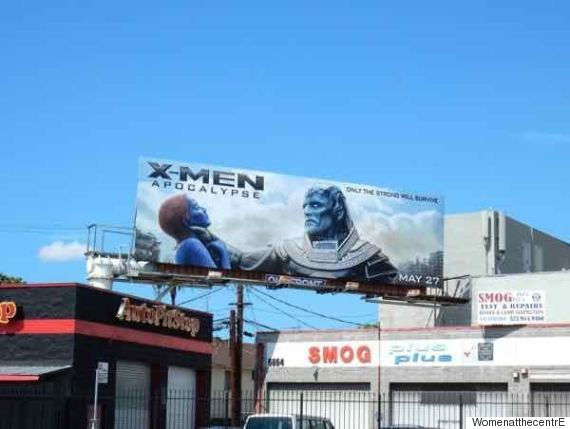 xmen billboard