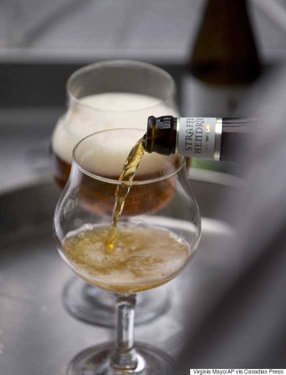 bruges belgium beer pipeline