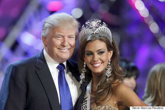 miss usa donald trump