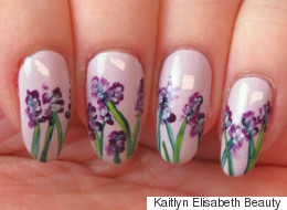 This Gorgeous Floral Nail Art Is Easier Than It Looks