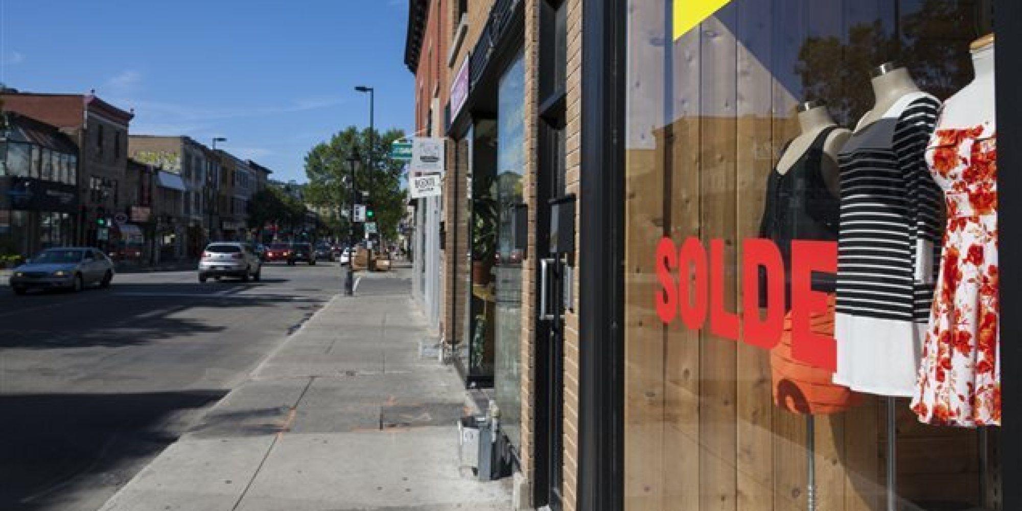 Montr al la ville canadienne o les taxes commerciales for Commerce montreal