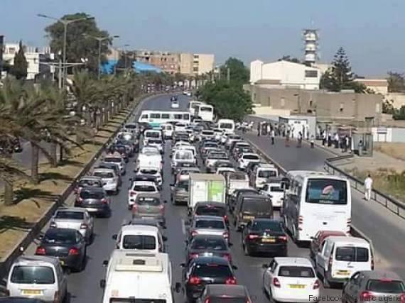 bus bloquant autoroute