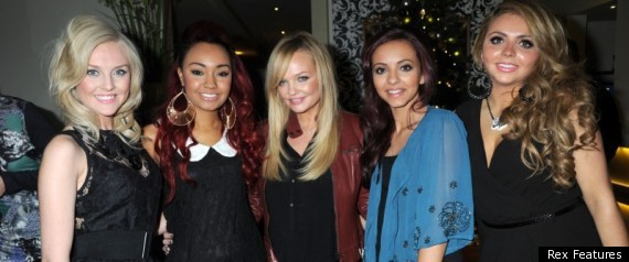 Little Mix Emma Bunton