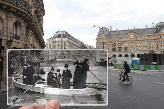 gare saintlazare en 1910