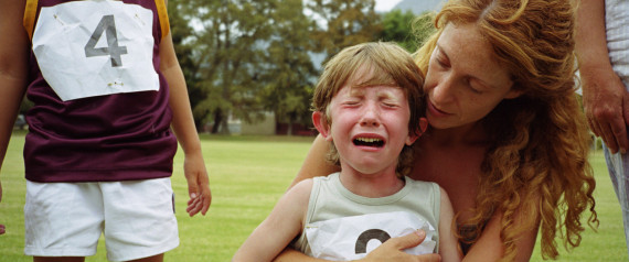 CHILD CRYING SPORTS