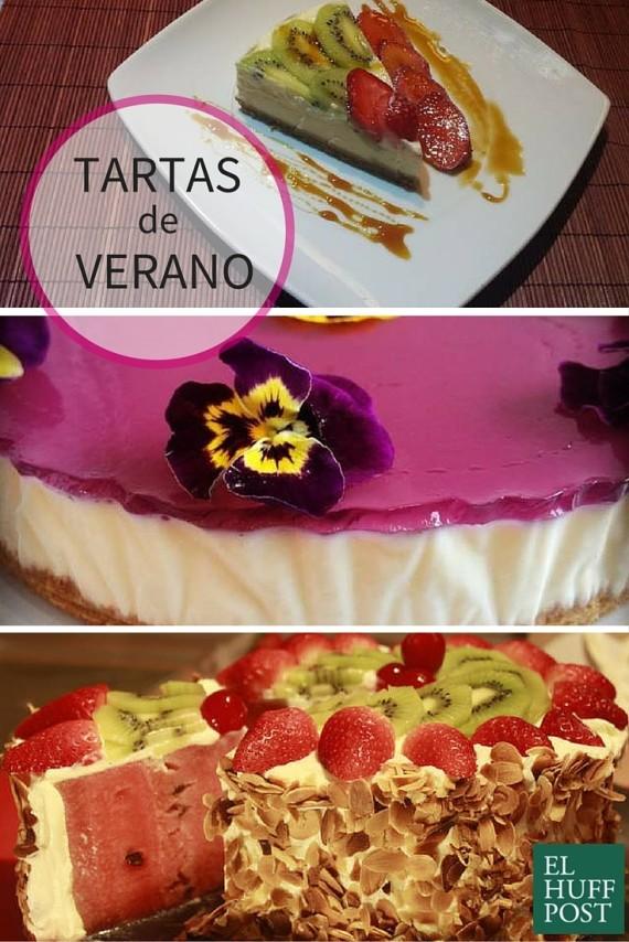 tartas de verano