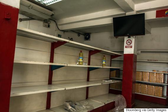 venezuela shelves