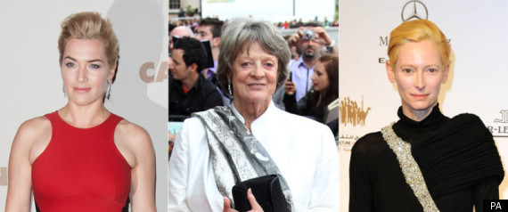 Kate Winslet Maggie Smith Tilda Swinton