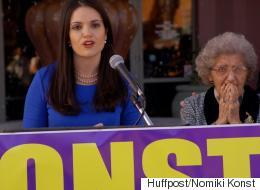 Νομική Κονστ: Η 28χρονη διακεκριμένη Ελληνο-Αμερικανίδα που κάποτε στήριζε Κλίντον και τώρα ψηφίζει Σάντερς