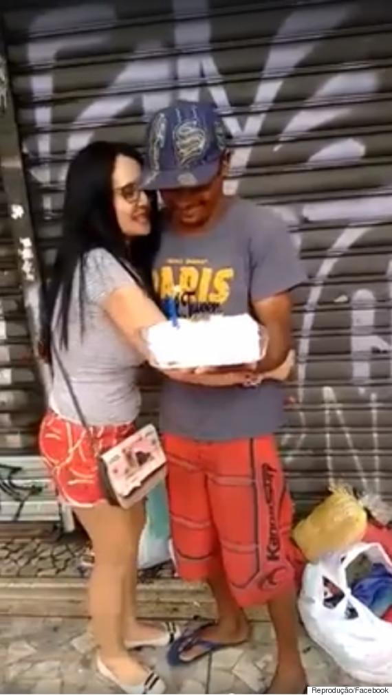 bolo morador de rua