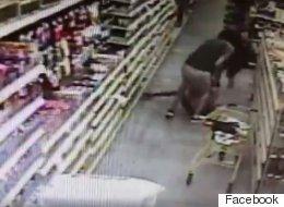 Un homme tente de kidnapper une ado au beau milieu d'un magasin
