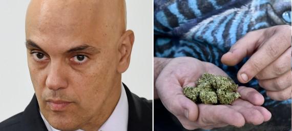 alexandre moraes drogas