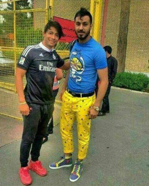 iranian player