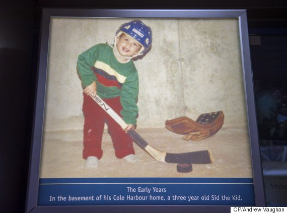 sidney crosby exhibit close halifax