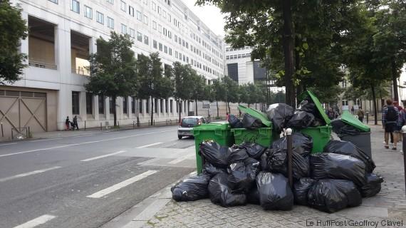 paris poubelles