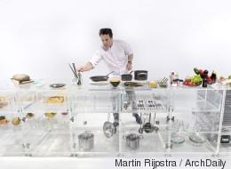 Une cuisine entièrement transparente (PHOTOS)