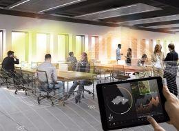 Ce bureau permettra à chacun d'être dans sa bulle et de choisir sa température