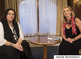 H Μαρία Φαραντούρη μιλά αποκλειστικά στη HuffPost Greece